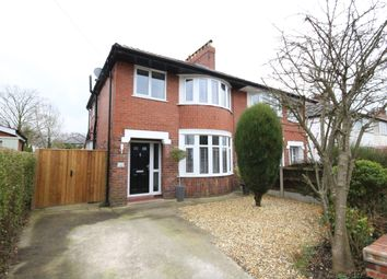 Thumbnail 3 bed semi-detached house for sale in Kensington Avenue, Penwortham, Preston