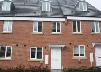 Thumbnail 3 bed terraced house to rent in Middlesex Road, Coventry