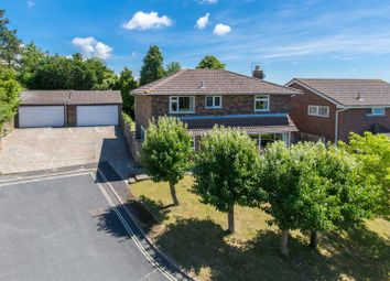 Thumbnail 4 bed detached house for sale in Houndean Close, Lewes
