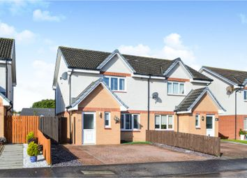 Thumbnail 3 bed semi-detached house for sale in Priory Crescent, Blackwood, Lanark