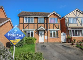 Thumbnail 4 bedroom detached house for sale in Jacob Close, Binfield, Berkshire