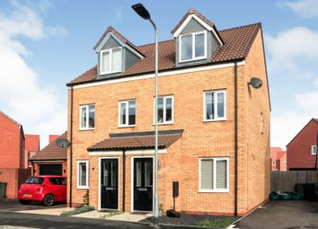 Thumbnail 3 bed semi-detached house for sale in Bellona Drive, Peterborough