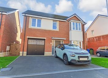 Thumbnail 4 bedroom detached house for sale in Strother Way, Cramlington