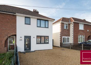 Thumbnail 3 bedroom semi-detached house for sale in Edwards Road, Sprowston, Norwich