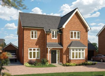 """Thumbnail 5 bed detached house for sale in """"The Birch"""" at Hobnock Road, Essington, Wolverhampton"""