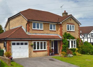 Thumbnail 5 bed detached house for sale in Bentley Close, Horndean, Waterlooville