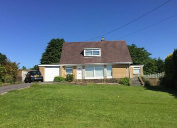 Thumbnail 3 bed detached bungalow for sale in Heol Bryngwili, Cross Hands, Llanelli