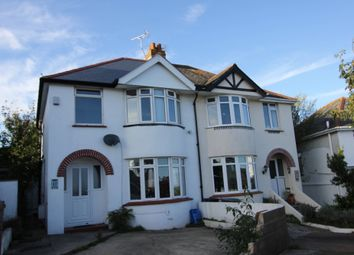 Thumbnail 3 bed semi-detached house to rent in Primley Park East, Paignton
