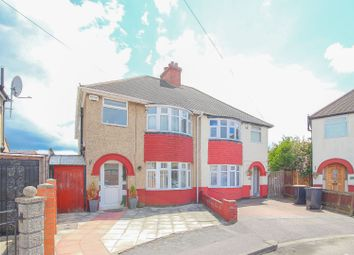 Thumbnail 4 bed semi-detached house for sale in Lynton Grove, Bedford