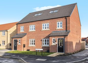 Thumbnail 4 bed semi-detached house for sale in White Mill Drive, Pocklington, York