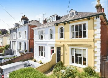 Thumbnail 6 bed semi-detached house for sale in Edgar Road, St Cross, Winchester