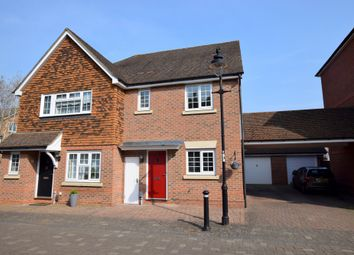Thumbnail 3 bed semi-detached house for sale in Alfred Close, Elvetham Heath, Fleet