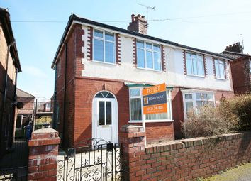 Thumbnail 3 bed semi-detached house to rent in Grange Road, Runcorn