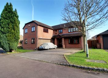 Thumbnail 5 bedroom detached house for sale in Conygree Close, Lower Earley, Reading