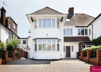 Thumbnail 6 bed semi-detached house for sale in Gresham Gardens, Golders Green, London
