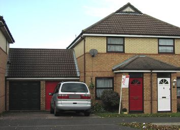 Thumbnail 2 bed semi-detached house to rent in Pickering Drive, Milton Keynes