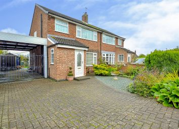 3 bed semi-detached house for sale in Meadow Crescent, Castle Donington, Derby DE74