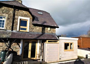 Thumbnail 2 bedroom semi-detached house for sale in Railway Cottages, Llangaffo, Gaerwen