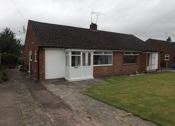 Thumbnail 2 bed bungalow for sale in Hind Heath Road, Sandbach, Cheshire