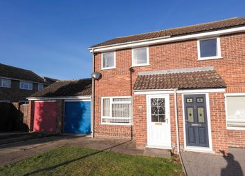 Thumbnail 2 bedroom semi-detached house to rent in Greengage Rise, Melbourn, Royston