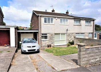 Thumbnail 3 bed end terrace house for sale in Gibbonsdown Close, Barry