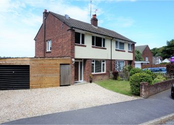 Thumbnail 3 bedroom semi-detached house for sale in Hinton Crescent, Pinewood Park, Southampton