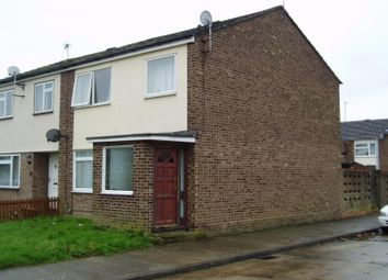 Thumbnail 3 bed end terrace house to rent in Rosalind Close, Colchester