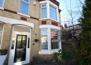 Thumbnail 3 bed end terrace house for sale in York Avenue, Wallasey