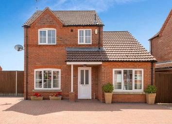 Thumbnail 4 bed detached house for sale in Winchelsea Road, Ruskington, Sleaford, Lincolnshire