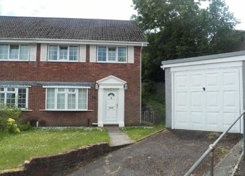 Thumbnail 3 bed property to rent in Down Leaze, Cockett, Swansea