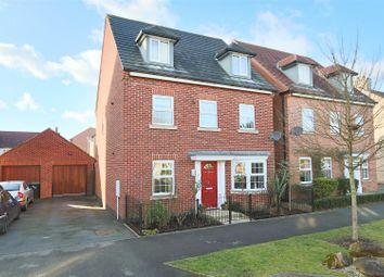 Thumbnail 5 bed detached house for sale in Aitchison Avenue, Hucknall, Nottingham