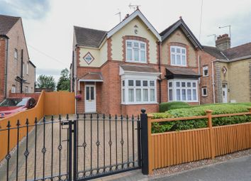 Thumbnail 3 bed semi-detached house for sale in Elmfield Road, Dogsthorpe, Peterborough