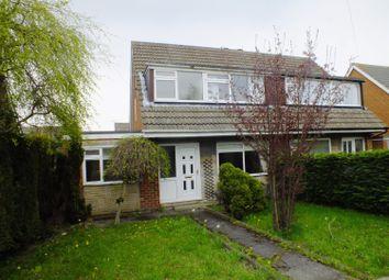 Thumbnail 3 bed semi-detached house to rent in Heathfield Walk, Adel, Leeds