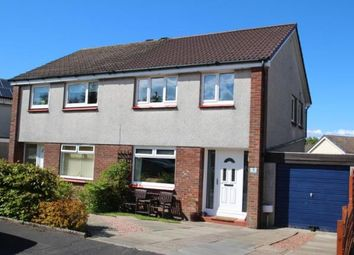 Thumbnail 3 bed semi-detached house for sale in Redburn Road, Cumbernauld, Glasgow, North Lanarkshire