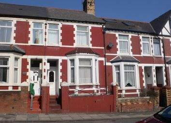 Thumbnail 3 bed terraced house to rent in Andrew Road, Penarth, South Glamorgan