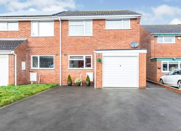 Thumbnail 3 bed semi-detached house for sale in Lyall Close, Loughborough