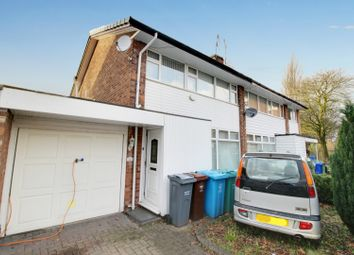 Thumbnail 3 bed semi-detached house for sale in Peveril Crescent, Chorlton Cum Hardy, Greater Manchester