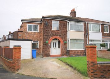 Thumbnail 4 bedroom semi-detached house for sale in Moss Road, Latchford, Warrington