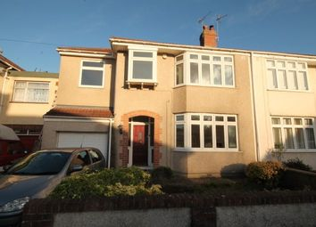 Thumbnail 4 bedroom semi-detached house to rent in Frome Valley Road, Bristol