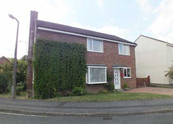 Thumbnail 4 bedroom detached house for sale in Manton Close, Trowbridge, Wiltshire