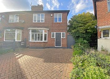 3 bed semi-detached house for sale in Cramworth Grove, Sherwood, Nottingham NG5