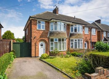 Thumbnail 3 bed semi-detached house for sale in Hawthorne Avenue, Birstall, Leicester, Leicestershire