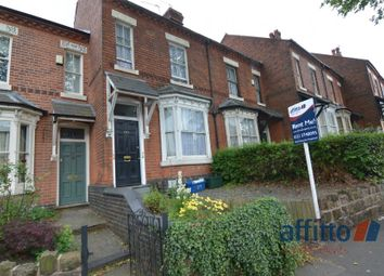 Thumbnail 4 bed terraced house to rent in Alcester Road, Moseley, Birmingham