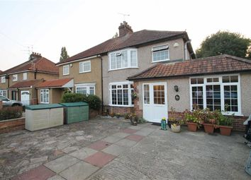 Thumbnail 4 bed semi-detached house to rent in Wallasey Crescent, Ickenham, Middlesex