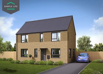 Thumbnail 3 bed semi-detached house to rent in Plot 61, 19 Tickhil Drive, Sheffield