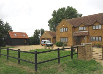 Thumbnail 4 bed detached house for sale in Holme Road, Ramsey St. Marys, Huntingdon