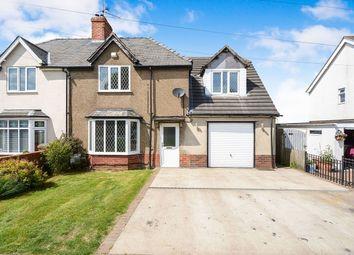 Thumbnail 4 bed semi-detached house for sale in Canwick Avenue, Bracebridge Heath, Lincoln