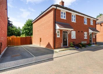 Thumbnail 3 bed semi-detached house for sale in Chadwick Manor, Warwick Road, Knowle, Solihull