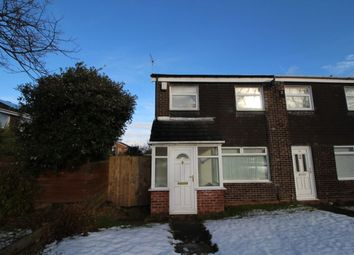 Thumbnail 3 bed terraced house to rent in Tudor Way, Newcastle Upon Tyne