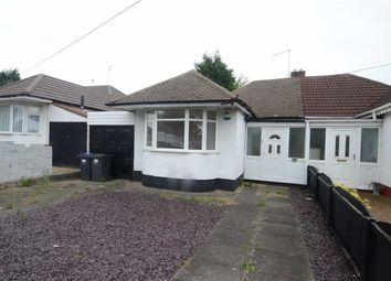 Thumbnail 2 bedroom semi-detached bungalow for sale in Heathland Avenue, Birmingham, Birmingham